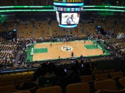 TD Garden, section: Bal 317, row: 11, seat: 9