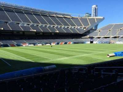 Soldier Field, section: 114, row: 10, seat: 10
