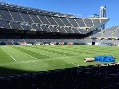 Soldier Field, section: 113, row: 10, seat: 10