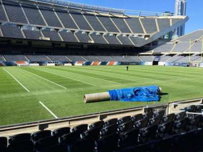 Soldier Field, section: 112, row: 7, seat: 8