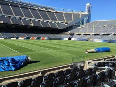 Soldier Field, section: 111, row: 6, seat: 8