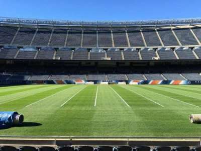 Soldier Field, section: 110, row: 7, seat: 13