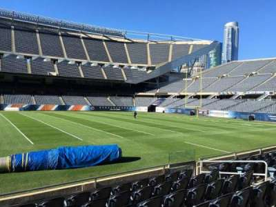 Soldier Field, section: 108, row: 7, seat: 10