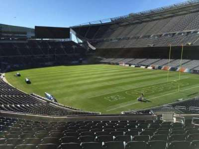Soldier Field, section: 256, row: 13, seat: 16