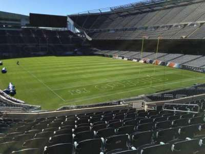 Soldier Field, section: 255, row: 12, seat: 9