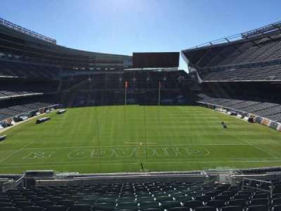 Soldier Field, section: 252, row: 15, seat: 11