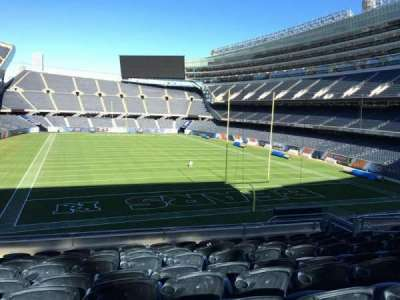 Soldier Field, section: 224, row: 9, seat: 11