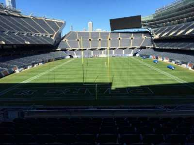 Soldier Field, section: 222, row: 10, seat: 9
