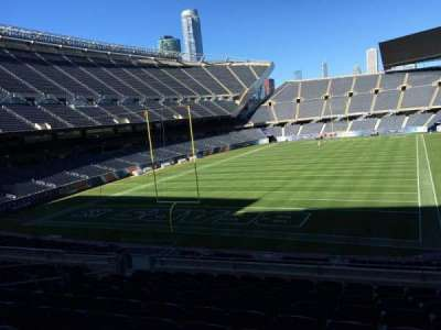 Soldier Field, section: 220, row: 10, seat: 11