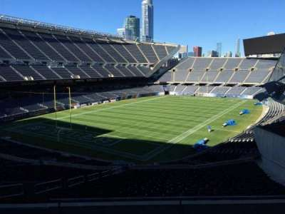 Soldier Field, section: 318, row: 5, seat: 9