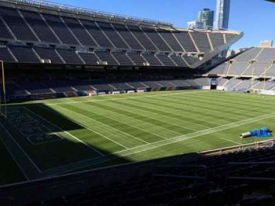 Soldier Field, section: 215, row: 14, seat: 12