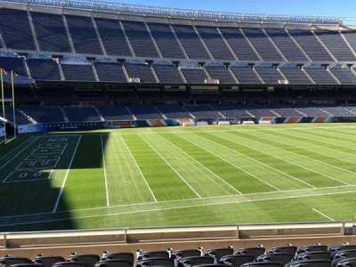 Soldier Field, section: 213, row: 7, seat: 10