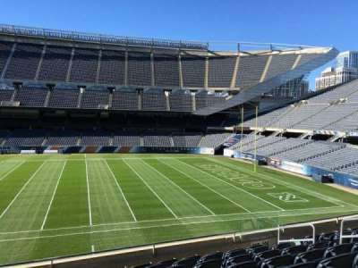 Soldier Field, section: 207, row: 8, seat: 9