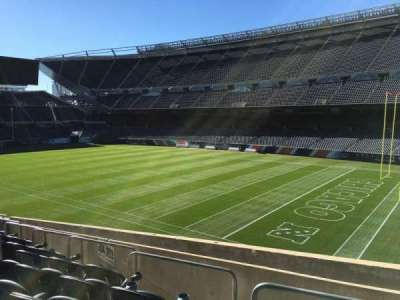Soldier Field, section: 203, row: 9, seat: 8