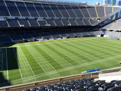 Soldier Field, section: 313, row: 10, seat: 9