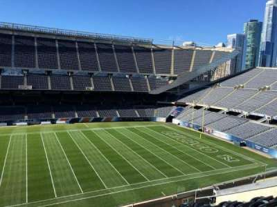 Soldier Field, section: 309, row: 10, seat: 12