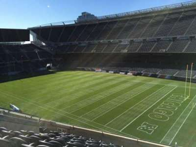 Soldier Field, section: 303, row: 9, seat: 11