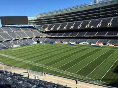 Soldier Field, section: 332, row: 6, seat: 9