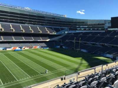 Soldier Field, section: 339, row: 6, seat: 10