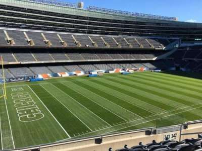 Soldier Field, section: 343, row: 6, seat: 10