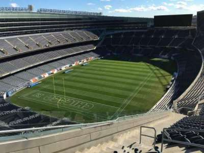 Soldier Field, section: 447, row: 22, seat: 18