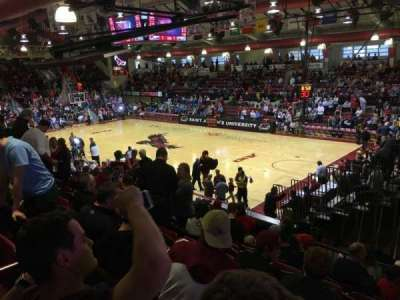 Hagan Arena, section: 210, row: 8, seat: 1