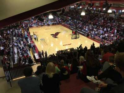 Hagan Arena, section: 209, row: 12, seat: 13