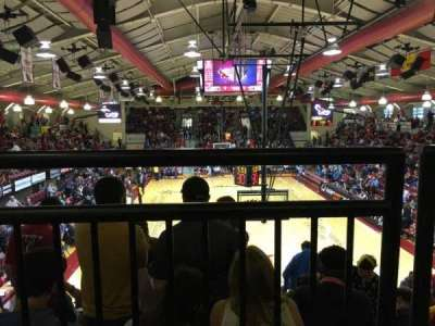 Hagan Arena, section: 208, row: 1, seat: 10