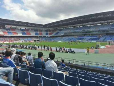 Nissan Stadium (Yokohama), section: Lower Stand, row: 8, seat: 610