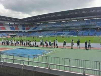 Nissan Stadium (Yokohama), section: Lower Stand, row: 4, seat: 541