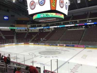 Giant Center, section: 121, row: K, seat: 4