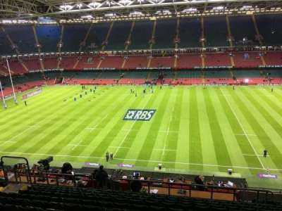 Principality Stadium, section: U29, row: 15, seat: 15