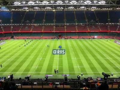 Principality Stadium, section: U30, row: 18, seat: 18