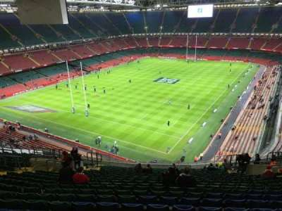 Principality Stadium section U37