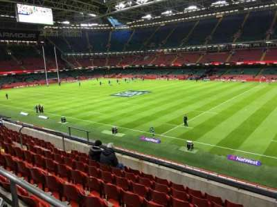 Principality Stadium section M27