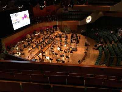 St David's Hall, section: Tier 3, row: E, seat: 7