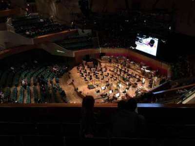St David's Hall, section: Tier 9, row: D, seat: 1