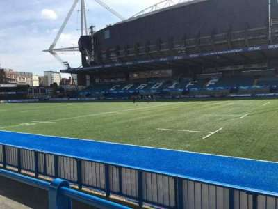 Cardiff Arms Park, section: Standing 11, row: 10