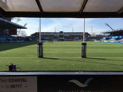 Cardiff Arms Park, section: 17, row: D, seat: 26