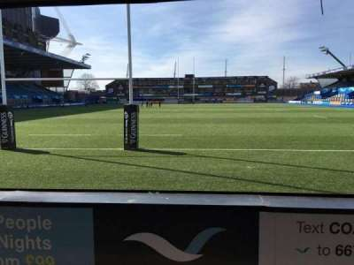 Cardiff Arms Park, section: 17, row: C, seat: 15