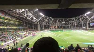 Aviva Stadium, section: 116, row: Ee, seat: 23