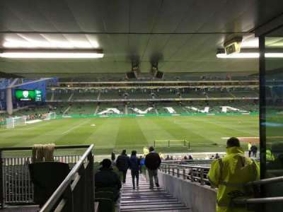 Aviva Stadium, section: 125, row: Bb