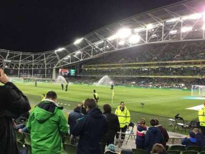 Aviva Stadium, section: 120, row: J, seat: 13