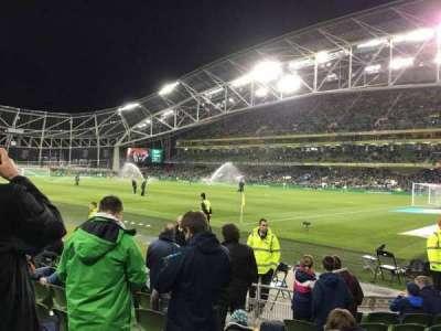 Aviva Stadium, section: 120, row: J, seat: 13