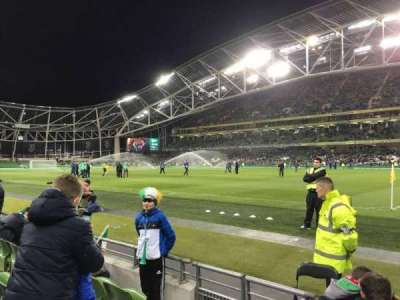 Aviva Stadium, section: 121, row: D, seat: 12