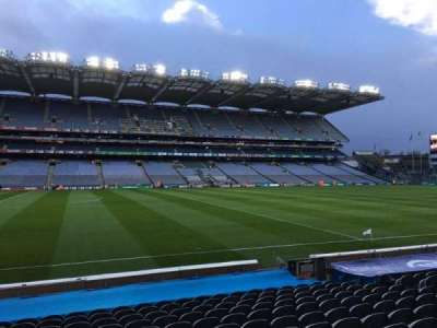 Croke Park, section: 309, row: P, seat: 1