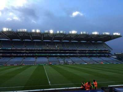 Croke Park, section: 308, row: Q, seat: 1