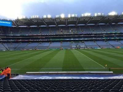 Croke Park, section: 307, row: S, seat: 1