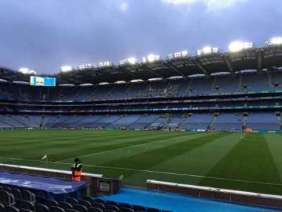 Croke Park, section: 303, row: M, seat: 3