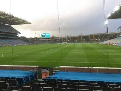Croke Park, section: 317, row: M, seat: 9